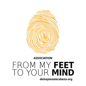 from my feet to your mind
