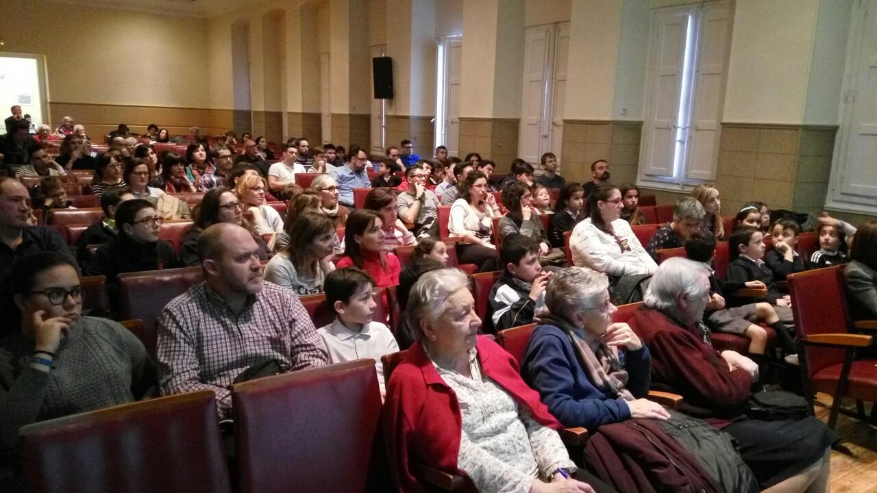 Conferencia motivacional delospieslacabeza Logroño