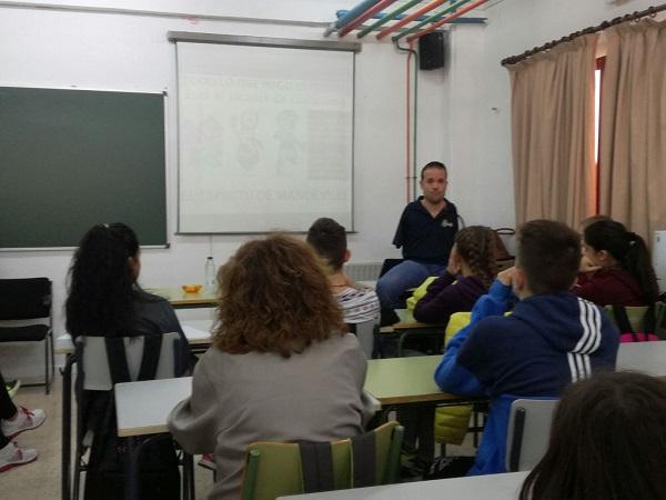 conferencias colegios institutos