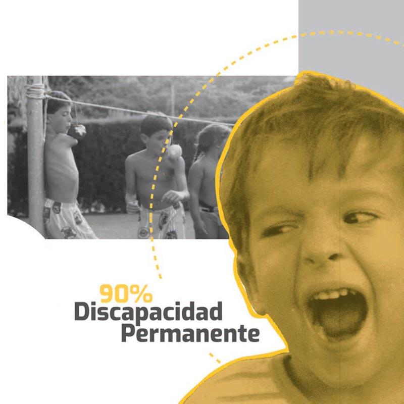 Discapacidad permanente 90%